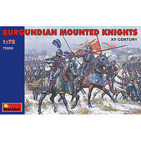 Mini-Art XV Century Burgundian Knights Plastic Model Military Figure 1/72 #72006