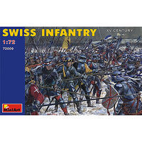 Mini-Art Swiss Infantry XV Century Plastic Model Military Figure 1/72 Scale #72009