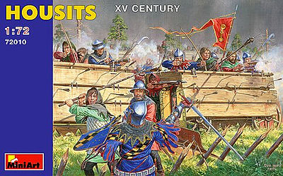 Mini-Art Housits XV Century Plastic Model Military Figure 1/72 Scale #72010