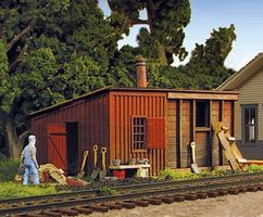 Monroe Pump House & Coal Shed Kit HO Scale Model Railroad Building #2212