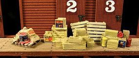 Monroe Loading Dock Junk Mini Tales(TM) Kit HO Scale Model Railroad Building Accessory #2303