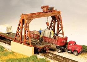 Monroe Overhead Gantry Crane Kit N Scale Model Railroad Building #9301