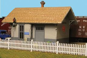 Monroe Straight Picket Fence 352 Scale Feet Total N Scale Model Railroad Building Accessory #9307