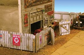 Monroe Junk Yard Fence 338 Scale Feet Total N Scale Model Railroad Building Accessory #9309