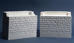 Monroe Bridge Abutments Pair O-Scale