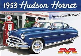 1953 Hudson Hornet Plastic Model Car Kit 1/25 Scale #1200