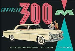 Moebius 1955 Chrysler C300 Plastic Model Car Kit 1/25 Scale #1201