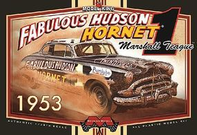 Moebius Marshall Teague's 1953 Fabulous Hudson Hornet Stock Car Plastic Model Kit 1/25 Scale #1206