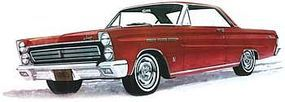 Moebius 1965 Mercury Comet Cyclone Plastic Model Car Kit 1/25 Scale #1210