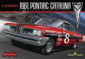 Moebius 1/25 1961 Pontiac Catalina Lil Joe Weatherly Stock Race Car (Ltd Prod)
