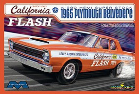 Moebius 1/25 Butch Leals California 1965 Plymouth Belvedere A990 Hemi Super Stock Car (Ltd Edition)