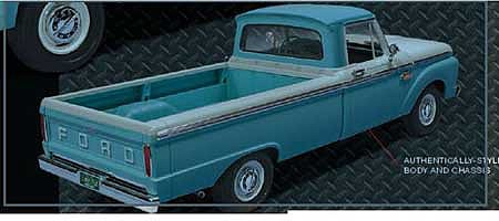 Moebius 65 Ford Custom Styleside Pickup 1-25