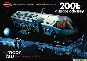 Moebius 1/50 2001 Space Odyssey- Moon Bus (Approx. 9 Long) (Re-Issue)