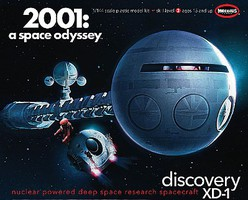 Moebius 1/144 2001 Space Odyssey- Discovery One Spacecraft (Over 40 Long)