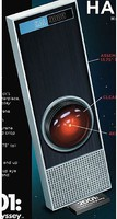 Moebius 1/1 2001 Space Odyssey- HAL9000 w/LED Red Light (13.75'')