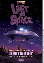 Moebius Lost in Space Jupiter 2 Lighting Kit Plastic Model Aircraft Accessory Kit 1/35 Scale #2097