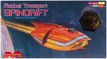 Moebius Models Mini Spindrift -- Science Fiction Plastic Model Kit -- 1/128 Scale -- #255
