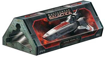 Moebius Models Finished BSG Viper MKII -- Pre-Built Space Plastic Model -- 1/32 Scale -- #2912