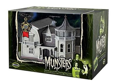 Moebius Models Finished Munster's House -- Plastic Model Building -- #2929