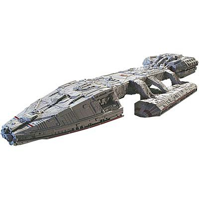 Moebius Models BSG Original Galactica Prefinished -- Science Fiction Plastic Model -- 1/4105 Scale -- #2942