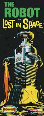 Moebius Models Lost In Space Robot -- Plastic Model Celebrity Kit -- 1/24 Scale -- #418