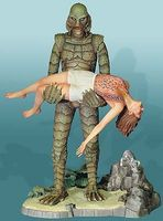 Moebius Creature From The Black Lagoon Plastic Model Celebrity Kit 1/8 Scale #925