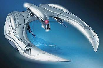 Moebius Battlestar Galactica Cylon Raider Science Fiction Plastic Model Kit 1/32 Scale #926