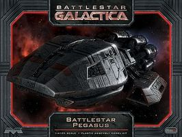 Moebius Battlestar Galactica Battlestar Pegasus Science Fiction Plastic Model Kit 1/4105 Scale #931