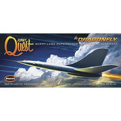 Moebius Models Jonny Quest Dragonfly -- Plastic Model Airplane Kit -- #946