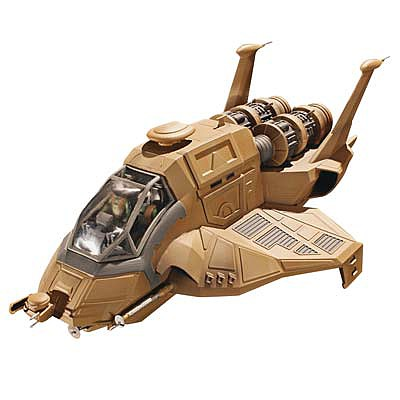 Moebius Models BSG Raptor -- Science Fiction Plastic Model -- 1/32 Scale -- #962