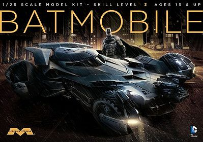 Moebius Models Suicide Squad Batmobile -- Plastic Model Car Truck Vehicle Kit -- 1/25 Scale -- #964