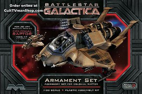 Moebius BSG Raptor Armament Set Science Fiction Plastic Model 1/32 Scale #968