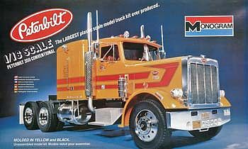 1 16 Peterbilt 359 Ssp Mon85 2500 Monogram Plastic Model