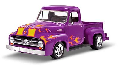 Monogram 1955 Ford F-100 Pickup Street Rod Plastic Model Truck Kit 1/24 Scale #850880