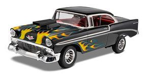 Monogram 1956 Chevy Bel Air Plastic Model Car Kit 1/24 Scale #850881