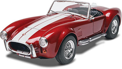 Monogram/Revell Shelby Cobra 427 S/C Convertible -- Plastic Model Car Kit -- 1/24 Scale -- #854011