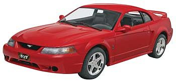 Monogram/Revell 1999 Mustang SVT Cobra -- Plastic Model Car Kit -- 1/25 Scale -- #854014
