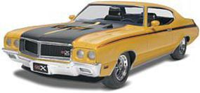 Monogram 1970 Buick Gsx Plastic Model Car Kit 1/24 Scale #854030