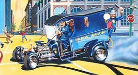 Monogram Paddy Wagon w/Figures Plastic Model Car Kit 1/24 Scale #854194