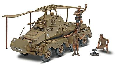 Monogram/Revell Panzerspahwagen Sd Kfz 232 -- Plastic Model Armored Car Kit -- 1/32 Scale -- #857856