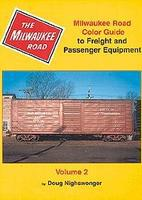 Morning-Sun Milwaukee Road Color Guide to Freight and Passenger Volume 2 Model Railroading Book #1036