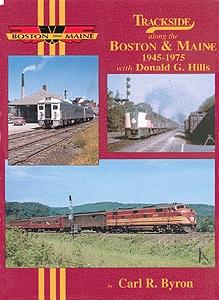 Morning-Sun Trackside Series Boston & Maine 1945-1975 Model Railroading Book #1139