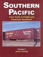 Morning-Sun Southern Pacific Color Guide To Freight & Passenger Vol 2 Model Railroading Book #1148