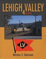 Morning-Sun Lehigh Valley in Color Volume 4 Model Railroading Book #1287