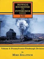 Morning-Sun Volume 3 Buffalo, Rochester and Pittsburgh Railway Penn-Pittsburg Model Railroad Book #1377