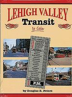 Morning-Sun Lehigh Valley Transit in Color Model Railroading Book #1395