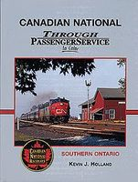 Morning-Sun Canadian National Through Passenger Service In Color Model Railroading Book #1415