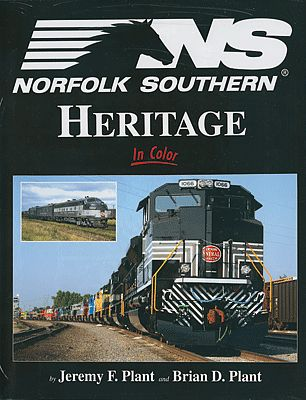 Morning-Sun Norfolk Southern Heritage In Color Model Railroading Book #1493