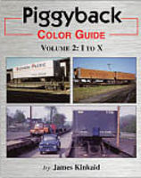 Morning-Sun Piggyback Color Guide Volume 2 I to X Model Railroading Book #1517