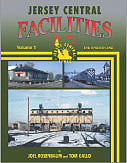 Morning-Sun Jersey Central Facilities in Color Model Railroading Book #1527